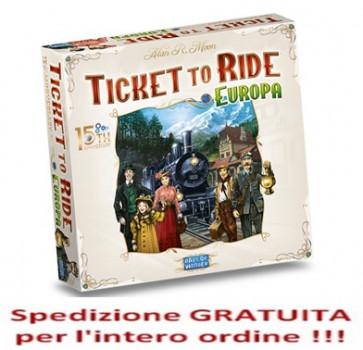 Ticket to Ride Europa 15° anniversario in italiano !