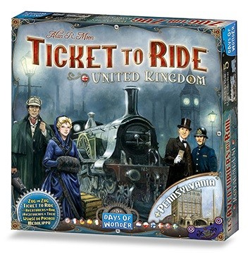 Ticket to Ride Volume 5 United Kingdom