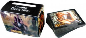 Porta Mazzo Gallery Magic + 80 Deck Protectors - Mox Diamond