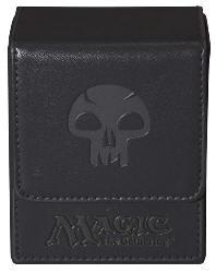 Porta Mazzo Magic - Mana Flip Box Nero