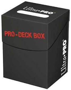 Deck Box - Porta Mazzo Pro-100+ - Nero