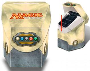 Porta Mazzo Magic - Commander - Bianco