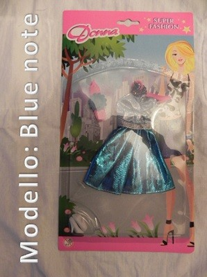 Vestito per Bambole - Modello Blue Note