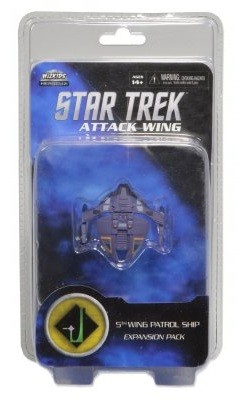 Star Trek 5th Wing Patrol Ship 6 (Dominio)