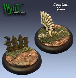 Graveyard 40mm Bases (2)
