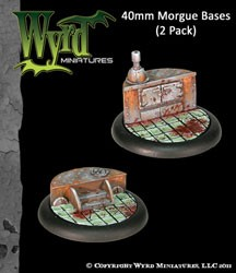 Morgue 40mm Bases (2)