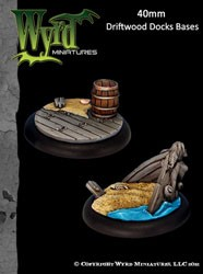 Driftwood Docks 40mm Bases (2)