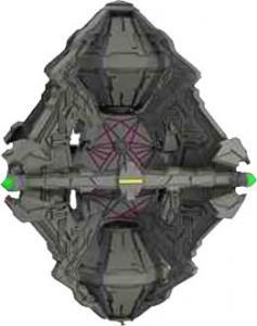 Star Trek Attack Wing: Queen Vessel Prime Borg