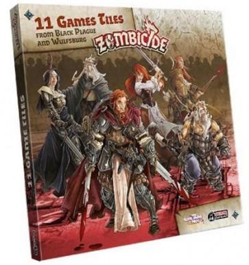 Zombicide Black Plague: Esp. 11 Extra Tiles Pack