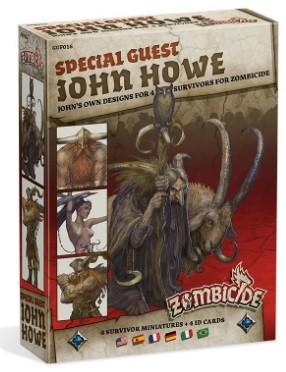 Zombicide Black Plague: Special Guest Box -John Howe
