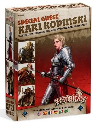 Zombicide Black Plague: Special Guest Box - Karl Kopinski