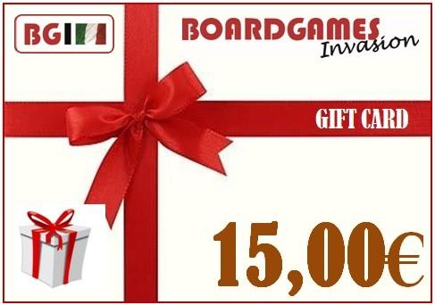 9e5325ccc52a Buono regalo da 15,00€ - Idee regalo   Boardgames Invasion