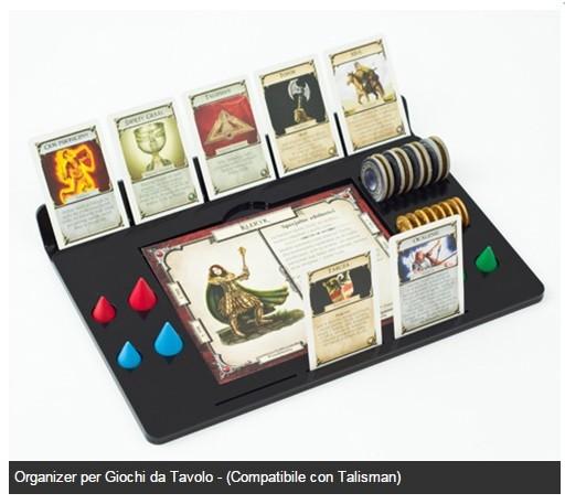 Organizer per giochi da tavolo compatibile con talisman e raptor boardgames invasion - Talisman gioco da tavolo ...