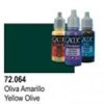 Vallejo Game Color - Oliva Giallo