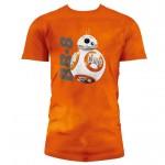 T-Shirt SW EP7 BB-8 TIE DYE KIDS ORNG (Taglia Slim)