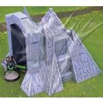 Ingresso bunker alieno - Kit