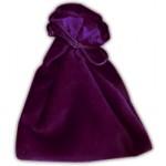 Sacchetto Medio Velluto - Viola Cangiante