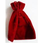 Sacchetto Medio Velluto - Rosso Cangiante