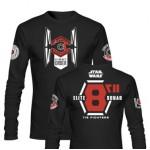 T-Shirt SW EP7 ELITE SQUAD L/SLEEVE BLCK BOY (Large)