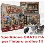 Istanbul Big Box in italiano + espansioni + promo e cammello + monete