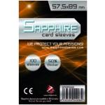 100 Bustine protettive Sapphire formato 57,5x89mm