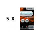 SOTTOCOSTO: 5 pacchi da 100 Bustine protettive Sapphire formato 57,5x89mm
