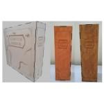 Contenitore numerato per scatole in color Noce