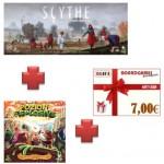 Pozioni Esplosive espansione quinto ingrediente + Espansione Scythe Invaders from Afar + buono prossimo acquisto !