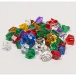 Crystal gems (25 pezzi) - Verdi