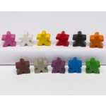 Meeple people 16x16x10mm (10 pezzi) - Blu