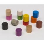 Ottagoni 10mm (10 pezzi) - Rossi