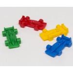 Racing car (25 pezzi) - Neri