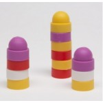 Stacking cap 20x10mm (1 pezzo) - Rosa
