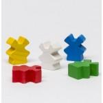 Wooden Mill (25 pezzi) - Bianchi