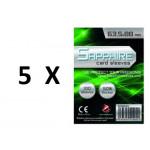 SOTTOCOSTO: 5 pacchi da 100 Bustine protettive Sapphire formato 63,5x88mm