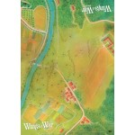 Wings of War WWI: Tappetino Gioco Sezione Est (Game Mat East)