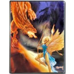 Album Portfolio 9 Tasche Ill. Easley - Dragon Battle