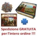 Viticulture PACK italiano Viticulture + Tuscany + monete in metallo