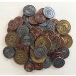 Viticulture monete in metallo