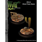 Ghost Town 40mm Bases (2)