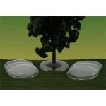 Basi trasparenti per alberi - 10pz