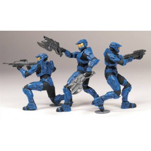 [R] Halo Heroic Coll S.1 BLUE TEAM 3-PCK (Halo)
