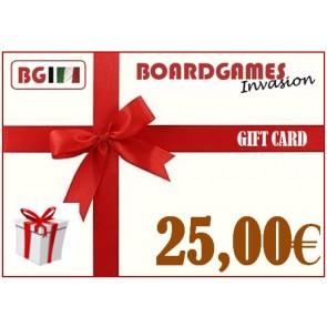 Buono regalo da 25,00€