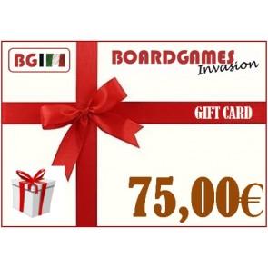 Buono regalo da 75,00€