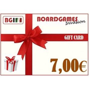 Buono regalo da 7,00€