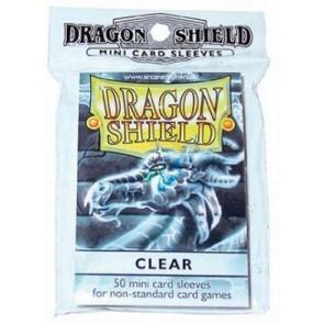 Bustine protettive (50) Dragon Shield - CLEAR MINI