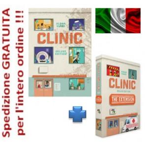 Clinic Edizione italiana deluxe con espansione