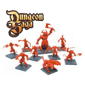 Dungeon Saga Denizens of the Abyss Miniature Set