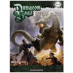 Dungeon Saga Il tiranno di Halpi (espansione)