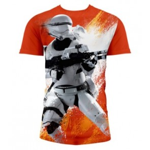 T-Shirt SW EP7 FLAMETROOP BOY FULL P ORNG (Large)
